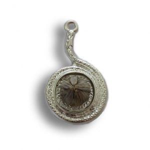 Silver spiral